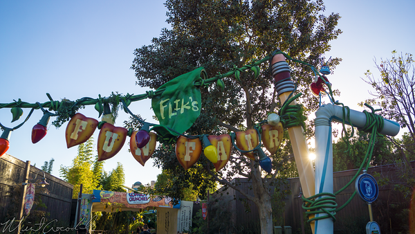 Disneyland Resort, Disneyland60, Halloween, Time, Christmas, Bug's Land, Ornaments, Lights, Flik's, Fun, Fair