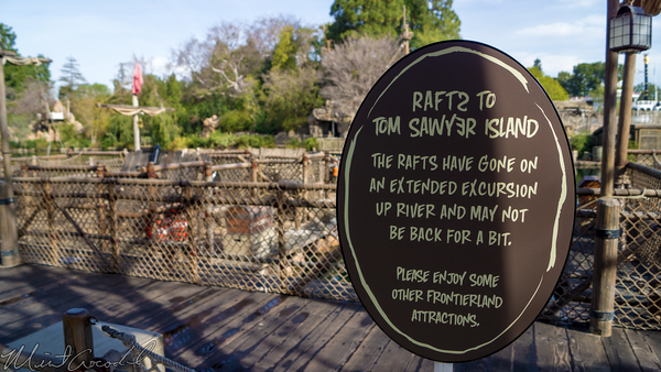 Disneyland Resort, Disneyland60, Disneyland, Frontierland, Tom, Sawyer, Island, Pirate, Lair, Refurbishment, Refurbish, Refurb, Star, Wars, River, Rivers, America