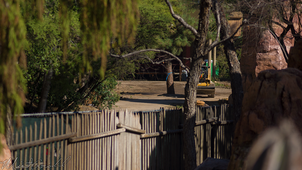 Disneyland Resort, Disneyland60, Disneyland, Frontierland, Big, Thunder, Trail, Close, Closed, Star, Wars, Land