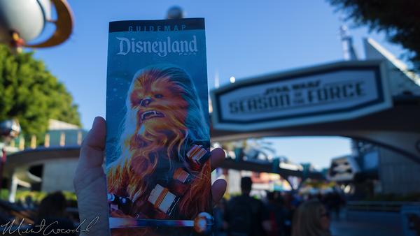 Disneyland Resort, Disneyland60, Christmas, Time, Disneyland, Tomorrowland, Star, Wars, Season, Force, Guide, Map