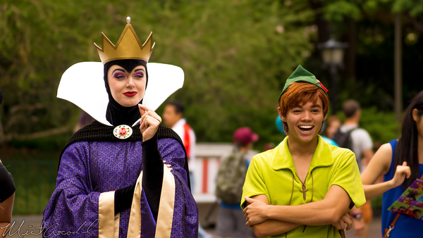 Disneyland Resort, Disneyland60, Disneyland, Evil, Queen, Peter, Pan