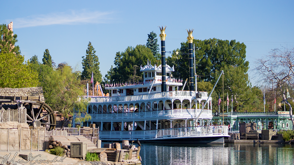 Disneyland Resort, Disneyland60, Disneyland, Frontierland, Star, Wars, Land, Mark, Twain, Steamboat, Riverboat, Star, Wars, Land, Closed, Close