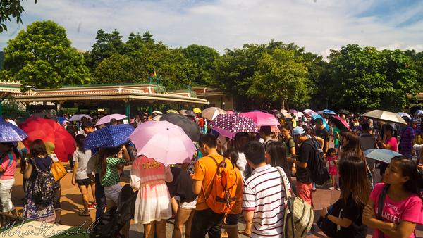 Hong, Kong, Disneyland, Main, Entrance