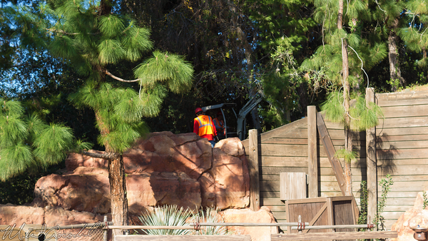 Disneyland Resort, Disneyland60, Disneyland, Frontierland, Mark, Twain, Big, Thunder, Mountain, Railroad, Star, Wars, Land, Rivers, America, Trees