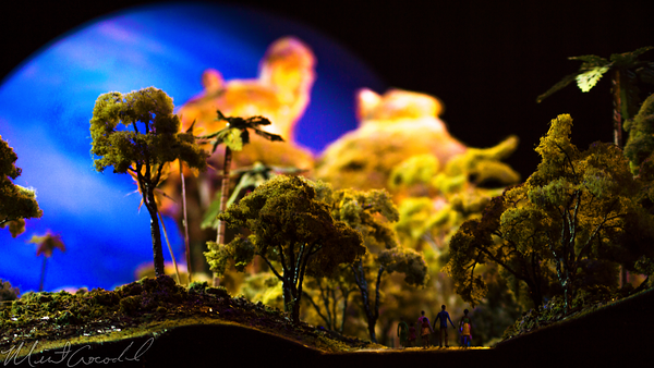 Disneyland Resort, Disneyland60, Disneyland, Disney California Adventure, D23, Expo, 2015, Pandora, World, Avatar, Model, Day, Night,