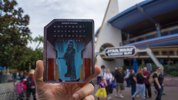 Disneyland Resort, Disneyland60, Christmas, Time, Disneyland, Tomorrowland, Star, Wars, Season, Of, The, Force, Launch, Bay, Chewbacca, Card