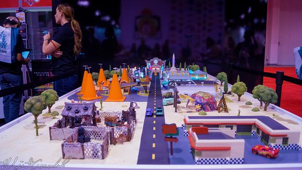 Disneyland Resort, Disneyland60, Disneyland, Disney California Adventure, D23, Expo, 2015, Show, Floor, Disney, Pixar, Mattel, Radiator, Springs, Cars