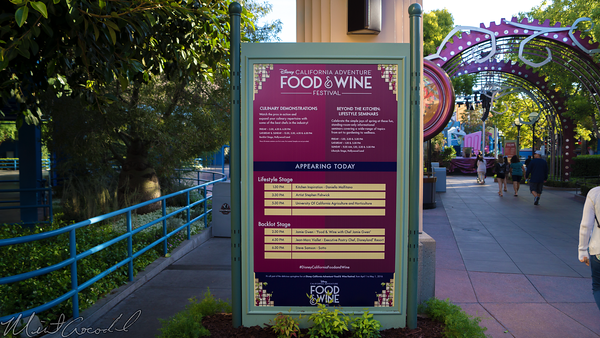 Disneyland Resort, Disney California Adventure, Food, Wine, Festival, 2016, Mad, T, Party, Hollywood, Land