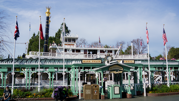 Disneyland Resort, Disneyland60, Disneyland, Frontierland, Mark, Twain, Steamboat, Riverboat, Star, Wars, Land, Rivers, River, America