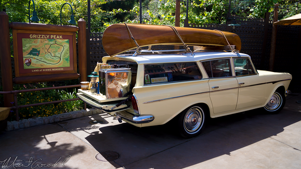 Disneyland Resort, Disney California Adventure, Grizzly, Peak, Airfield, Station, Wagon, Camping, Camp