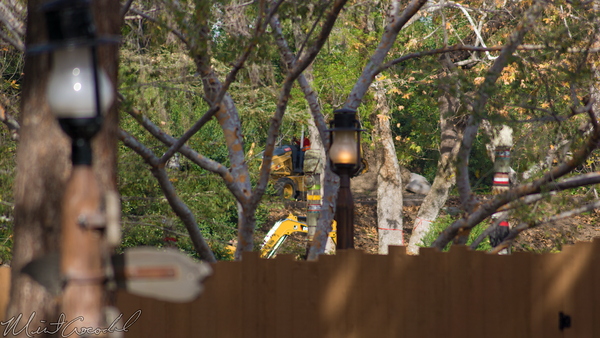 Disneyland Resort, Disneyland60, Disneyland, Critter, Country, River, America, Railroad, Star, Wars, Refurbishment, Refurbish, Refurb, Construction, Bulldozer, Bulldoze