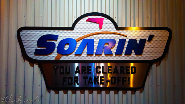 Disneyland Resort, Disneyland, Disney California Adventure, Grizzly, Peak, Airfield, Condor, Flats, Soarin', Soarin, Over, California, Logo, Sign