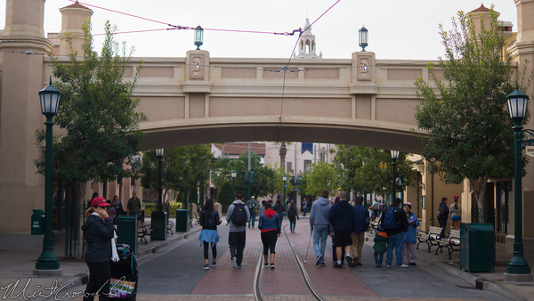 Disneyland Resort, Disneyland60, Disney California Adventure, Buena, Visa, Street