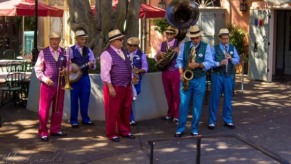 Disneyland Resort, Disneyland60, Disneyland, New, Orleans, Square, Band