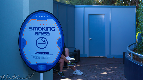Disneyland Resort, Disneyland, Tomorrowland, Train, Depot, Station, Smoking, Smoke, Section