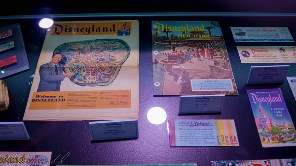 Disneyland Resort, Disneyland60, Disneyland, Disney California Adventure, D23, Expo, 2015, Exhibit, Walt, Disney, Archives, Archive