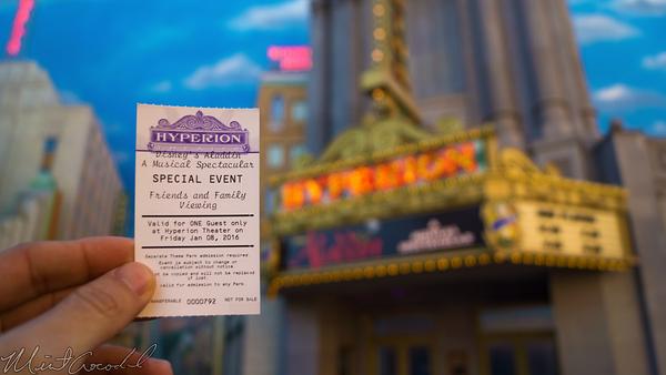 Disneyland Resort, Disneyland60, Christmas, Time, Disney California Adventure, Hollywood Land, Hyperion, Theater, Theatre, Aladdin, Musical, Spectacular