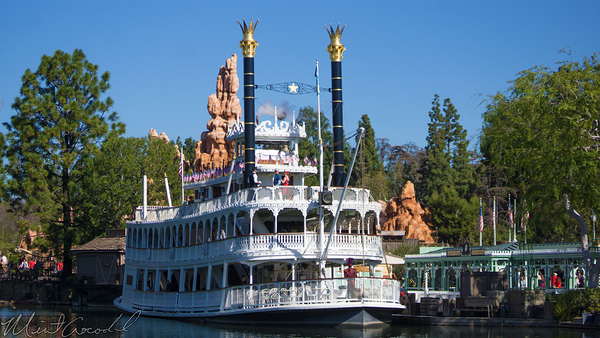 Disneyland Resort, Disneyland, Frontierland, Mark, Twain, Steamboat, Riverboat, Princess, Frog, Dr, Facilier