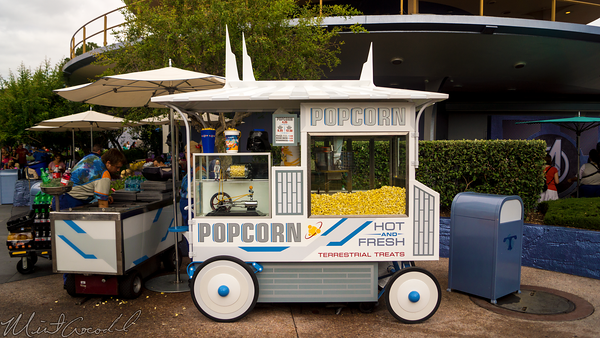 Disneyland Resort, Disneyland60, Disneyland, Tomorrowland, New, Popcorn, Cart