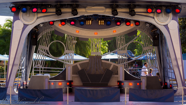 Disneyland Resort, Disneyland60, Halloween, Time, Disneyland, Tomorrowland, Jedi, Academy, Stage, Terrace