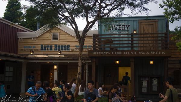Hong, Kong, Disneyland, Grizzly, Gulch, Bathhouse