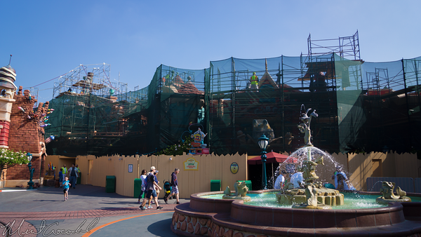 Disneyland Resort, Disneyland, Mickey, Toon, Town, ToonTown, Paint, Facade
