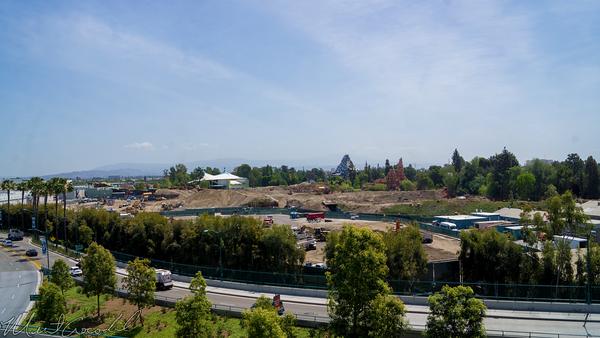 Disneyland Resort, Disneyland, Star, Wars, Land, Construction, Mickey, Friends, Parking, Structure, Frontierland, Critter, Country