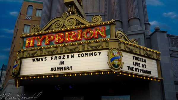 Disneyland Resort, Disney California Adventure, Hyperion, Theater, Frozen