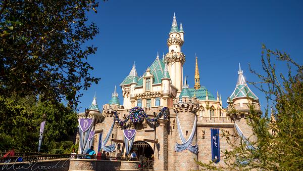 Disneyland Resort, Disneyland60, Christmas, Time, Disneyland, Fantasyland, Sleeping, Beauty, Castle, Decoration, Ornament, Diamond, Celebration