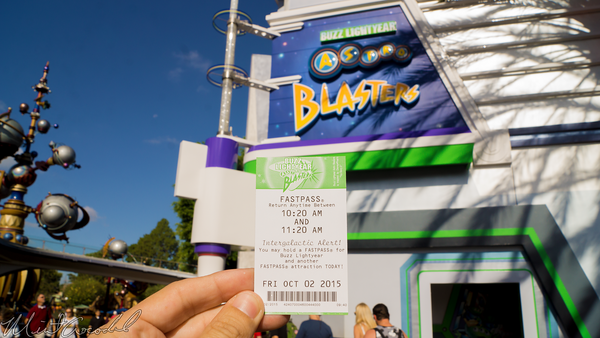 Disneyland Resort, Disneyland60, Halloween, Time, Disneyland, Tomorrowland, Buzz, Lightyear, Astro, Blasters, FastPass, Fast, Pass