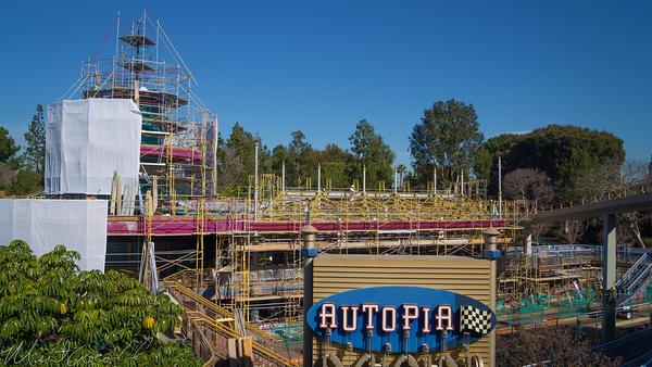 Disneyland Resort, Disneyland60, Disneyland, Tomorrowland, Autopia, Refurbish, Refurbishment, Refurb