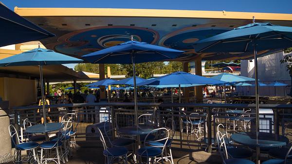 Disneyland Resort, Disneyland60, Christmas, Time, Disneyland, Tomorrowland, Terrace, Stage, Jedi, Star, Wars
