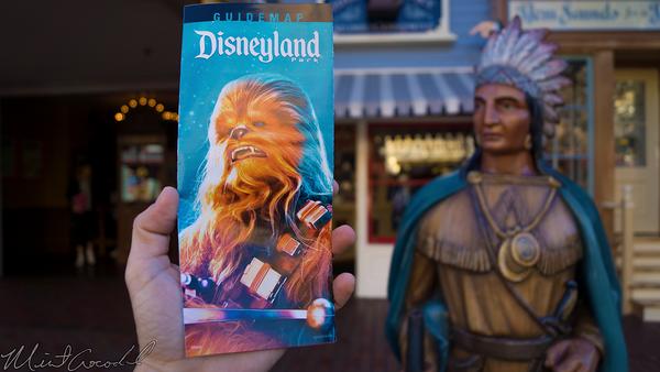 Disneyland Resort, Disneyland60, Christmas, Time, Disneyland, Main Street U.S.A., Star, Wars, Season, Force, Guide, Map