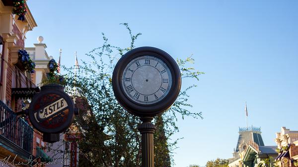 Disneyland Resort, Disneyland60, Christmas, Time, Clock, Disneyland, Main Street U.S.A.