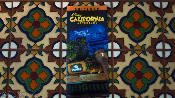 Disneyland Resort, Disneyland60, Disney California Adventure, Buena, Vista, Street, Guide, Map, Halloween, Time
