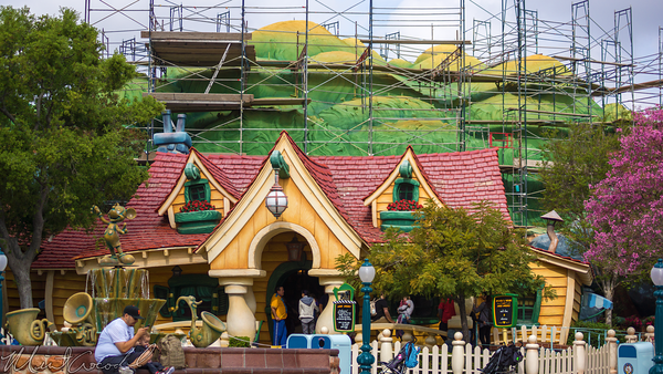 Disneyland Resort, Disneyland, Mickey's, ToonTown, Toon, Town, Paint, Repaint