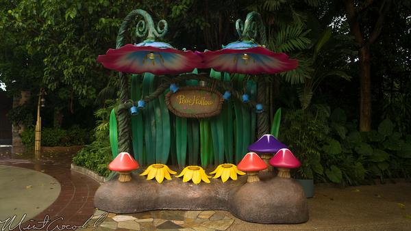Hong, Kong, Disneyland, Fantasyland, Pixie, Hollow