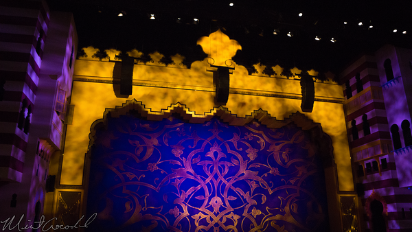 Disneyland Resort, Disneyland60, Christmas, Time, Disney California Adventure, Hollywood Land, Hyperion, Theater, Theatre, Aladdin, Musical, Spectacular
