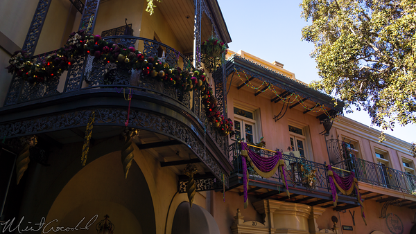 Disneyland Resort, Disneyland60, Halloween, Time, Christmas, Disneyland, New, Orleans, Square, Mardi, Gras, Decoration