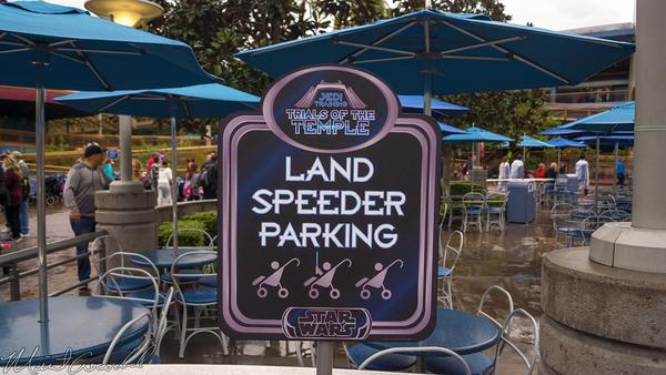 Disneyland Resort, Disneyland60, Christmas, Time, Disneyland, Tomorrowland, Terrace, Jedi, Training, Trial, Temple