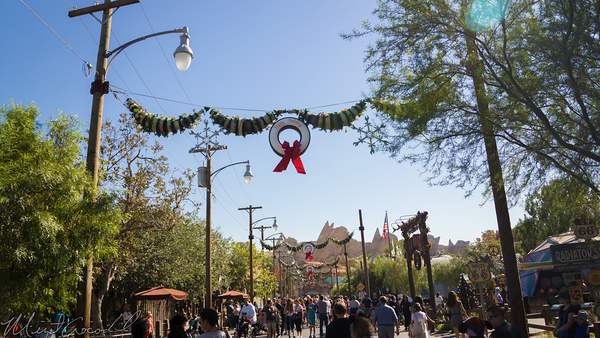 Disneyland Resort, Disneyland60, Christmas, Time, Disney California Adventure, Cars Land