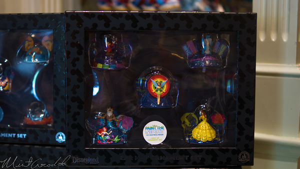 Disneyland Resort, Disneyland60, Halloween, Time, Disneyland, Main Street U.S.A., Paint, Night, Ornament, Christmas, Time, Merchandise