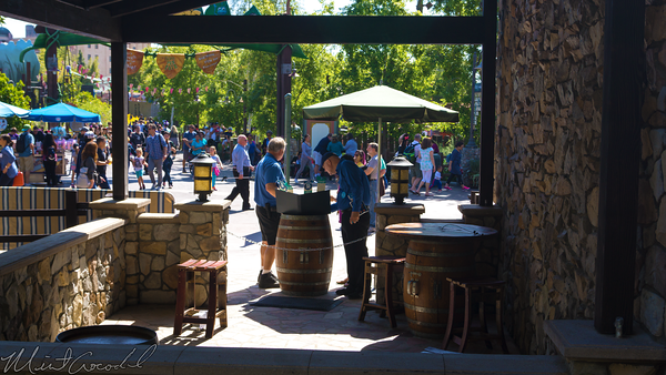 Disneyland Resort, Disney California Adventure, Blue, Sky, Cellar, Disney, Vacation, Club, DVC