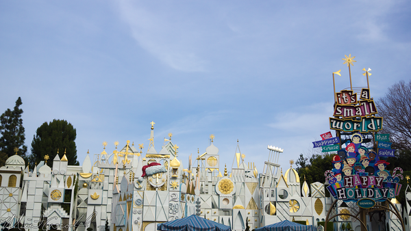 Disneyland Resort, Disneyland60, Fantasyland, Small, World, Holiday, Christmas, Time
