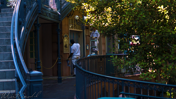Disneyland Resort, Disneyland60, Halloween, Time, Disneyland, New, Orleans, Square, Pirates, Caribbean, Refurbishment, Refurbish, Refurb, Queue, Paint