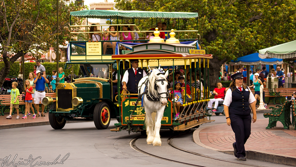 Disneyland Resort, Disneyland60, Disneyland, Main Street U.S.A., Vehicle