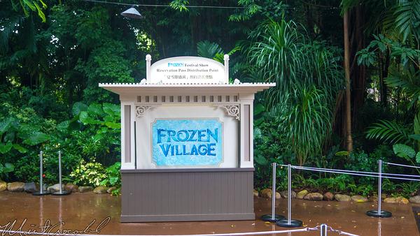 Hong, Kong, Disneyland, Froze, Village, Anna, Elsa, Olaf, Kristoff