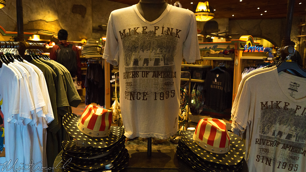 Disneyland Resort, Disneyland, Frontierland, Mike, Fink, Keel, Boat, Shirt