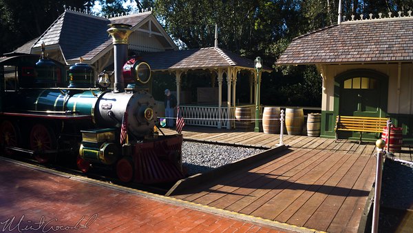 Disneyland Resort, Disneyland60, Disneyland60, Disneyland, Railroad, New, Orleans, Sqaure, Depot, Station