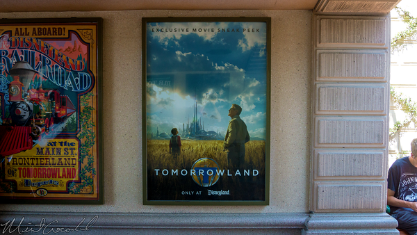 Disneyland Resort, Disneyland60, Disneyland, Main Street U.S.A., Tunnel, Tomorrowland, Movie, Poster
